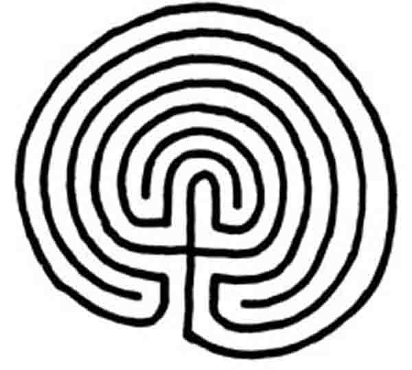 photo relating to Finger Labyrinth Printable called Mindfulness within just the Clroom- Finger Labyrinth Meditation