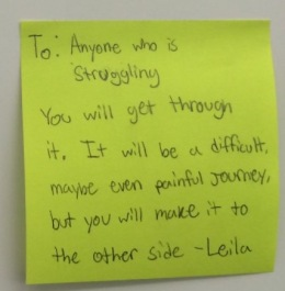 #PositivePostItDay – A Growing Mindfulness
