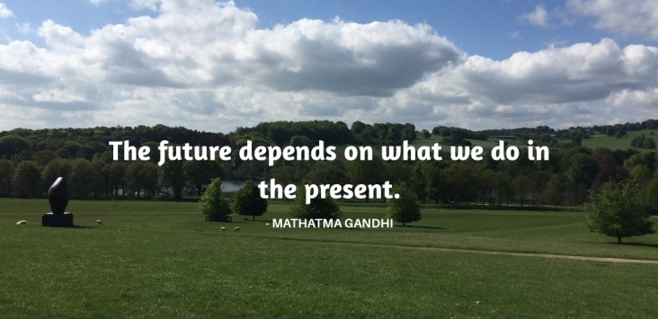 the future depends